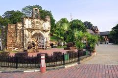 Afamosa Fort-Ruinen Lizenzfreies Stockfoto