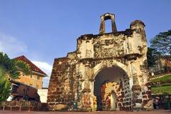 Afamosa Fort Ruins Stock Photos