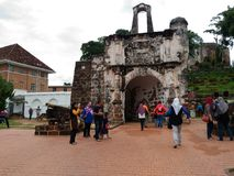 Afamosa Melaka Malaysia Stockfoto