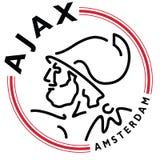 AFC Ajax logo dutch football Stock Images