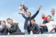 Afc Bournemouth Promotion and Champions Stock Photos