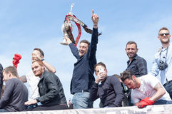 Afc Bournemouth Promotion and Champions Stock Image