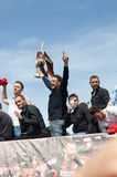 Afc Bournemouth Promotion and Champions Royalty Free Stock Images