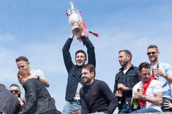Afc Bournemouth Promotion and Champions Stock Images