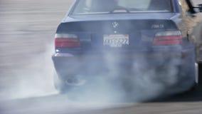 Afdrijvende Auto in Zuidelijk Californië stock videobeelden