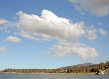 Afdrijvende Wolken Royalty-vrije Stock Foto's