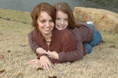 Afecto maternal Foto de archivo libre de regalías