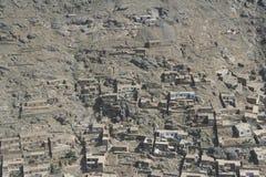 Afeganistão pelo ar fotografia de stock royalty free