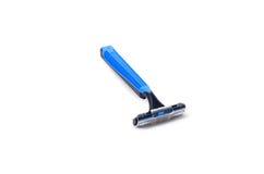 Afeitando la maquinilla de afeitar aislada fotografía de archivo libre de regalías