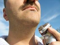 Afeitar al hombre Fotografía de archivo libre de regalías
