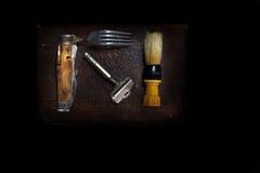 Afeitar el kit Imagenes de archivo