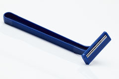 Afeitar la maquinilla de afeitar Fotos de archivo