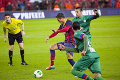 Afellay in action Royalty Free Stock Photos