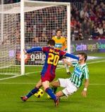 Afellay in der Tätigkeit (FC Barcelona) Lizenzfreie Stockfotografie