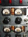 Aferidores audio Fotografia de Stock