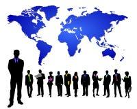 affär över hela världen Arkivbild