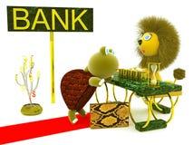 Affär bank Royaltyfri Bild