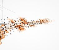Affär för datateknik för futuristisk internet för vetenskap hög stock illustrationer