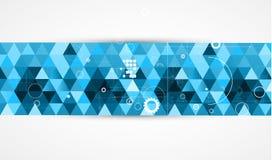 Affär för datateknik för futuristisk internet för vetenskap hög vektor illustrationer