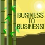 Affär för handskrifttexthandstil till affären Stopp för upptaget arbete för businessanalysis för begreppsbetydelse arbetande jord vektor illustrationer