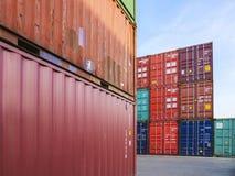 Affär för transport för lager för frakter för behållarelastsändnings logistisk royaltyfri foto