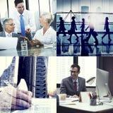 Affär företags Team Collaboration Success Start Concept Arkivbild
