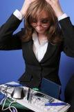 affär förkrossad kvinna Arkivfoton