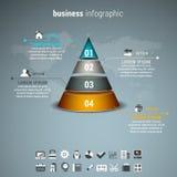 Affär Infographic Arkivfoto