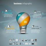 Affär Infographic Arkivfoton