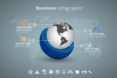Affär Infographic Royaltyfri Bild