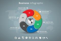 Affär Infographic Royaltyfria Foton