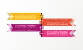 Affär Infographic linje Affären diagrams, presentationer och diagram Bakgrund vektor Arkivbilder