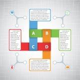 Affär Infographics Stock Illustrationer