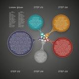 Affär Infographics Vektor Illustrationer