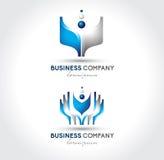 Affär Logo Vector Royaltyfria Bilder