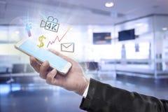 Affär och financials Arkivbild