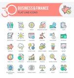 Affär och finans royaltyfri illustrationer