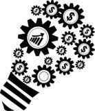Affär och kontorssymbol Arkivfoton