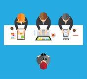 Affär och kontorsvektordesign Arkivfoto