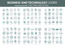 Affär och marknadsföring som programmerar, dataledning, internetuppkoppling, socialt nätverk som beräknar, information stock illustrationer