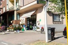 Affär på den huvudsakliga gatan #2 Fotografering för Bildbyråer