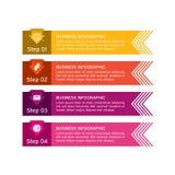 Affär som är infographic med symboler linje Affären diagrams, presentationer och diagram Bakgrund vektor Royaltyfri Foto