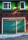affär som ut går Royaltyfri Foto