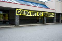 affär som ut går royaltyfri bild