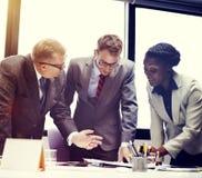 Affär Team Corporate Organization Meeting Concept royaltyfria bilder
