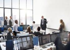 Affär Team Discussion Meeting Corporate Concept Royaltyfria Foton
