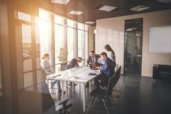Affär Team Empowerment Success Motivation Concept Fotografering för Bildbyråer