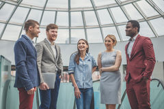 Affär Team Empowerment Success Motivation Concept Arkivbild