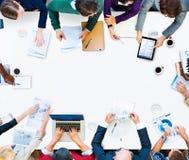 Affär Team Meeting Discussion Strategy Concept Royaltyfri Fotografi