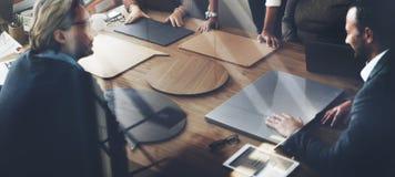 Affär Team Meeting Project Planning Concept royaltyfri foto